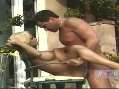Beautiful Busty Tina Cherry Giving A Wonderful Blow