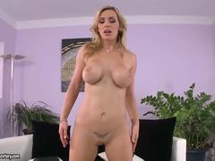 Incredible Buxomy British Milf Tanya Tate In Hot Sex Video Sexy Masturbation