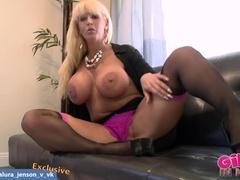 Lovely Boksmoom Tested By Woman Alura Danson In Hot Sex Video Sexy Masturbation
