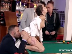 Charming Teen Gina Gerson, Having A Nice Anal Sex