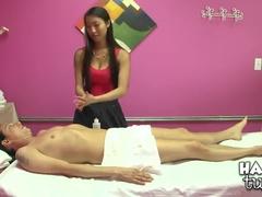 Mellow Buxomy Asian Scott Featuring Hot Handjob Sex Video