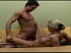 A Beautiful Busty Teen Girl Gives A Cool Blowjob